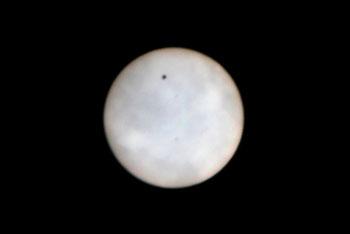 金星日面通過 028