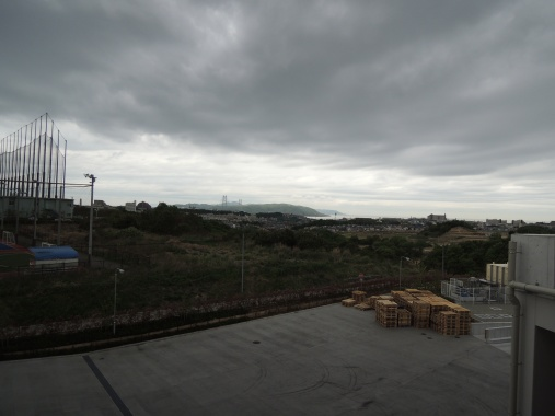5月2日 コストコの屋上から