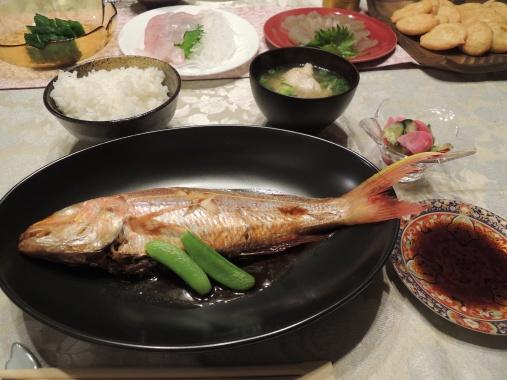 5月30日 シゲの夕食