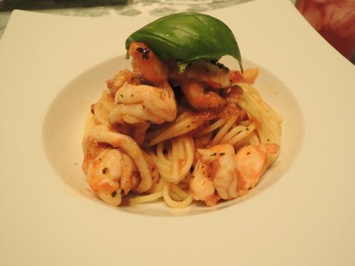 8月4日 トマトのスパゲッティ