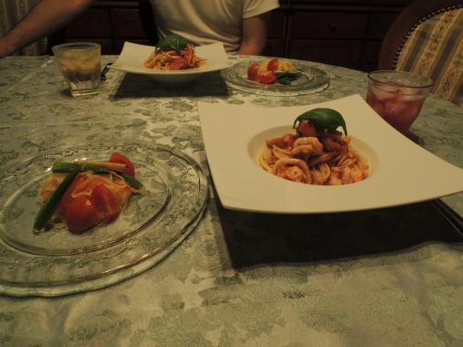 8月4日 夕ご飯