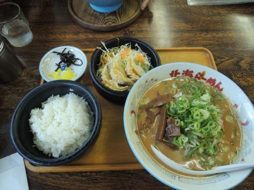 8月26日 味噌ラーメン定食
