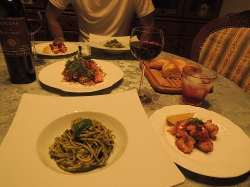 8月27日 夕ご飯