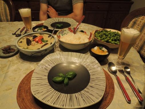 8月29日 夕ご飯