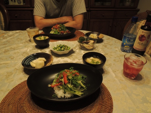 8月30日 夕ご飯