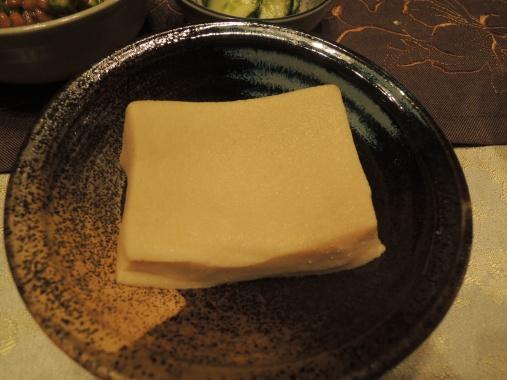 9月22日 高野豆腐