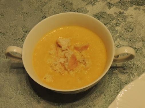 10月5日 かぼちゃスープ