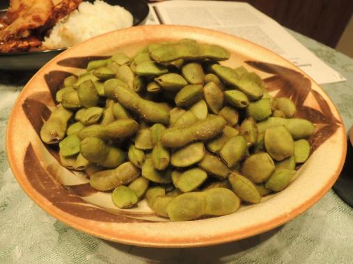 10月25日 枝豆