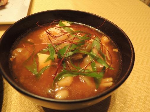 10月31日 チゲスープ