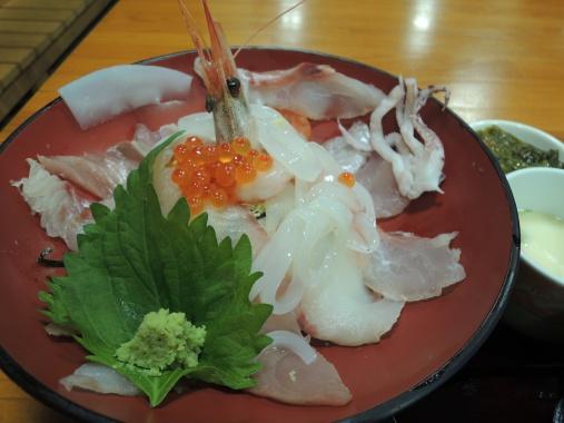 11月7日 海鮮丼2