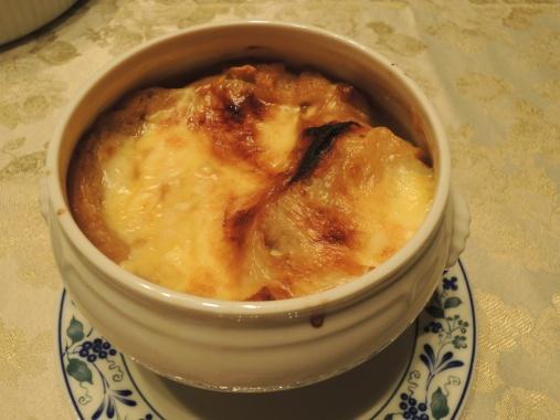 11月14日 オニオングラタンスープ