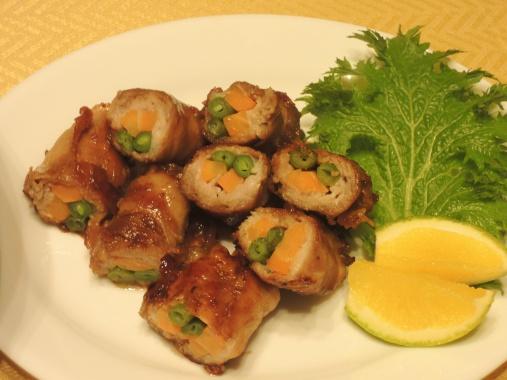 11月15日 豚の野菜ロール