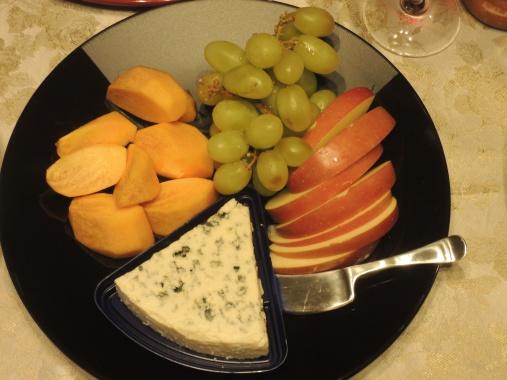 11月19日 果物、チーズ