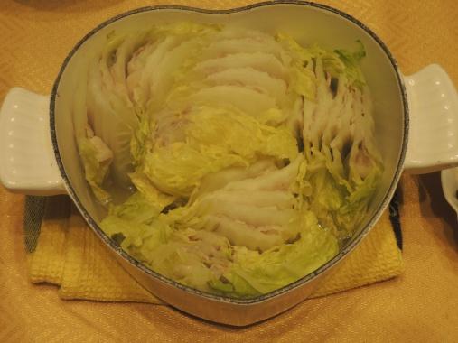 12月10日 豚バラ白菜