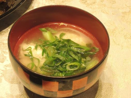 12月17日 豆腐団子のスープ