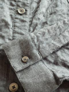 4L・Wガーゼ肩落ちシャツ