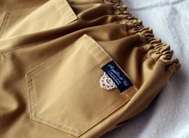 後ろのポケット