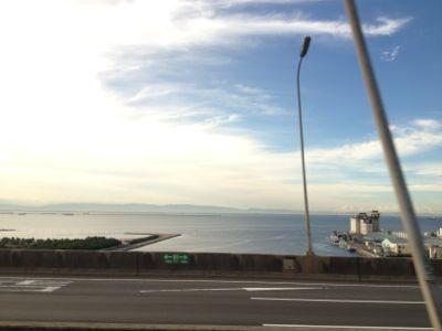 海側の風景
