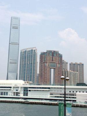 西九龍の風景