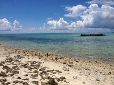 カイジ浜の風景
