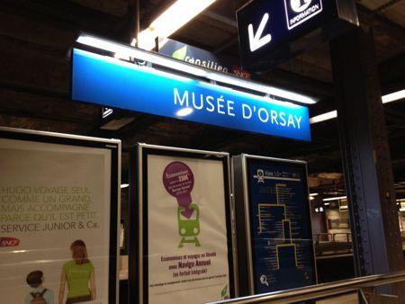 オルセー美術館駅