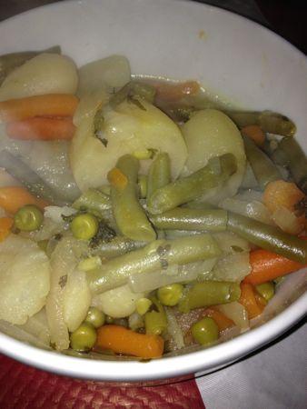 付け合わせの野菜