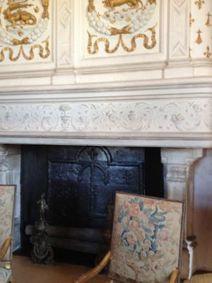 ルイ14世の寝室暖炉