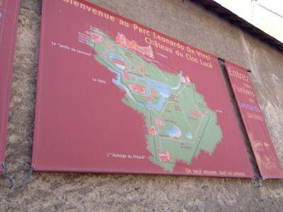 クロ・リュセ城地図