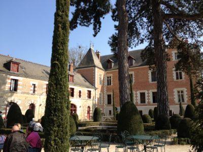クロ・リュセ城の裏