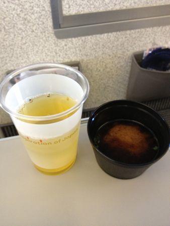 冷茶味噌汁