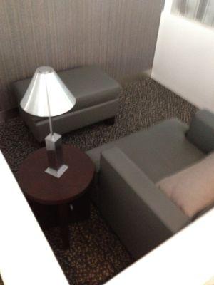 個室風のスペース