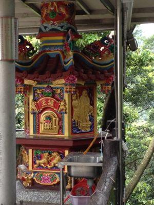 小さいお寺です。