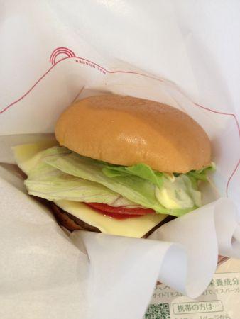 野菜バーガー