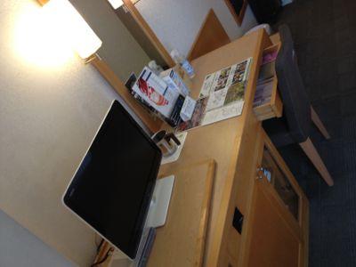 テレビ・椅子