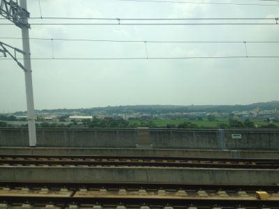 駅の近くは田舎