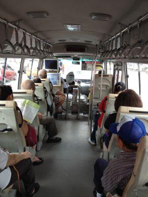 なんて小型バス!