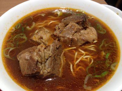 牛肉麺アップ