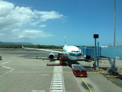 キャセイパシフィック航空146便香港行き