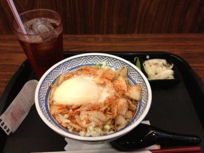 キムチ豚丼セット