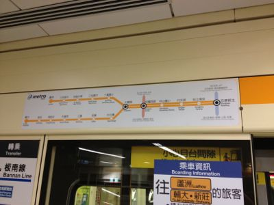 新蘆線路線図