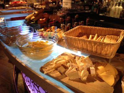 チーズにデザート