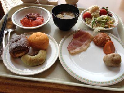 稚内全日空ホテル朝食全体像