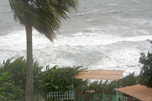 台風15号接近中!5