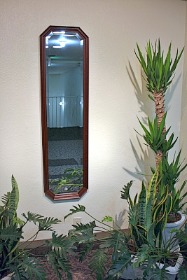 鏡はイタリー製