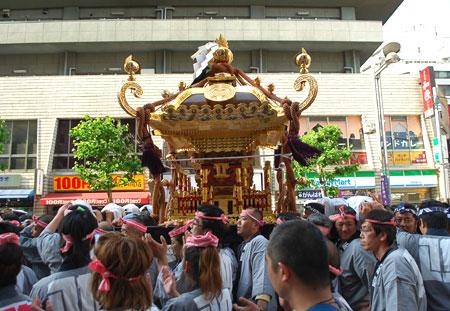花園神社 鳳凰神輿