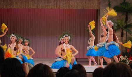 フラガール ポリネシアンダンス