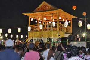 デカンショ祭り仮設工事2
