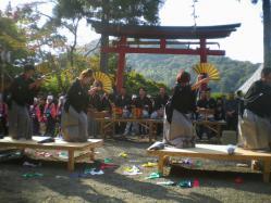 20121021梅田春日祭り2