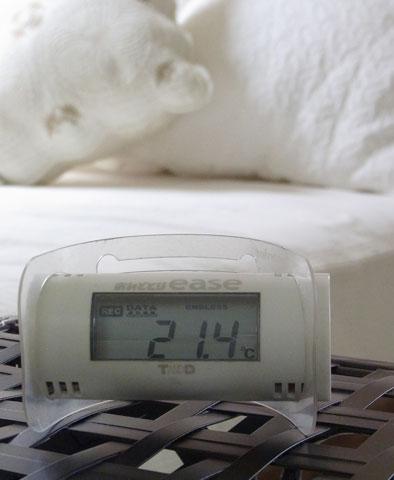室温21度