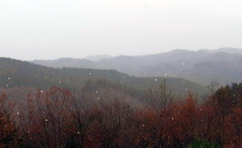 初雪11月19日